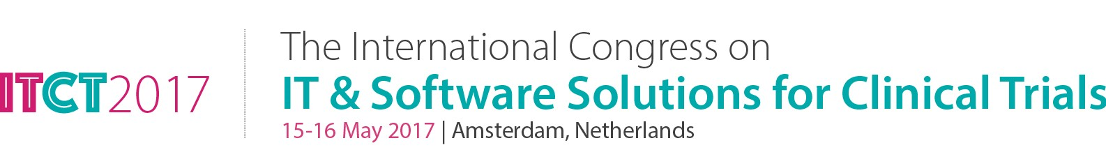 The International Congress on IT & Software Solutions for Clinical Trials